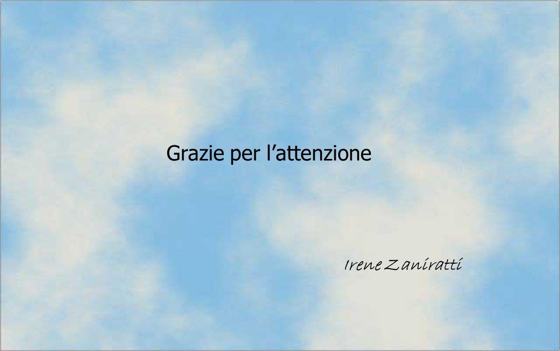 Grazie per lattenzione Irene Zaniratti