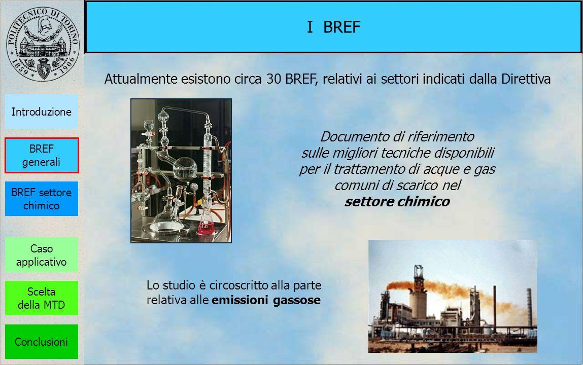 I BREF Attualmente esistono circa 30 BREF, relativi ai settori indicati dalla Direttiva Documento di riferimento sulle migliori tecniche disponibili p