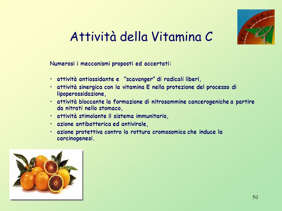 49 Gli antociani e la vitamina C sono un cocktail di molecole attive che prevengono gravi patologie e attivano le difese immunitarie
