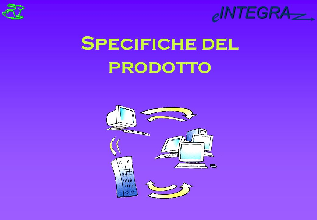 INTEGRA e Specifiche del prodotto