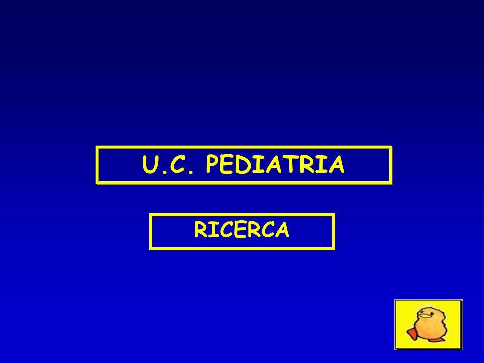 U.C. PEDIATRIA RICERCA