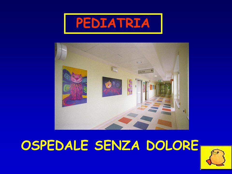 OSPEDALE SENZA DOLORE PEDIATRIA