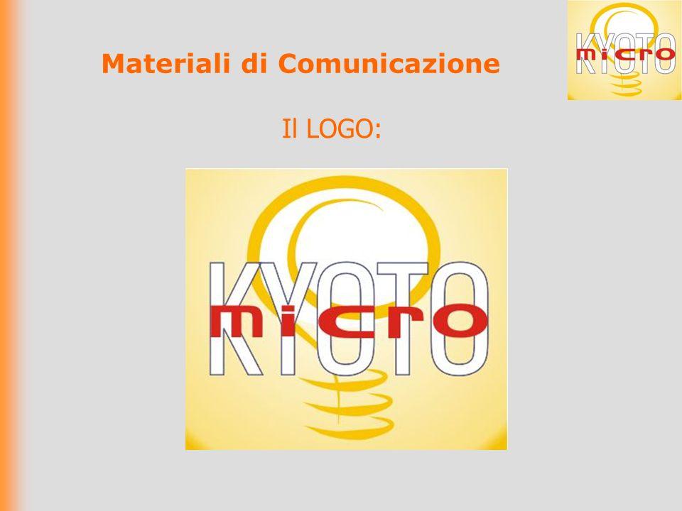 Il LOGO: Materiali di Comunicazione