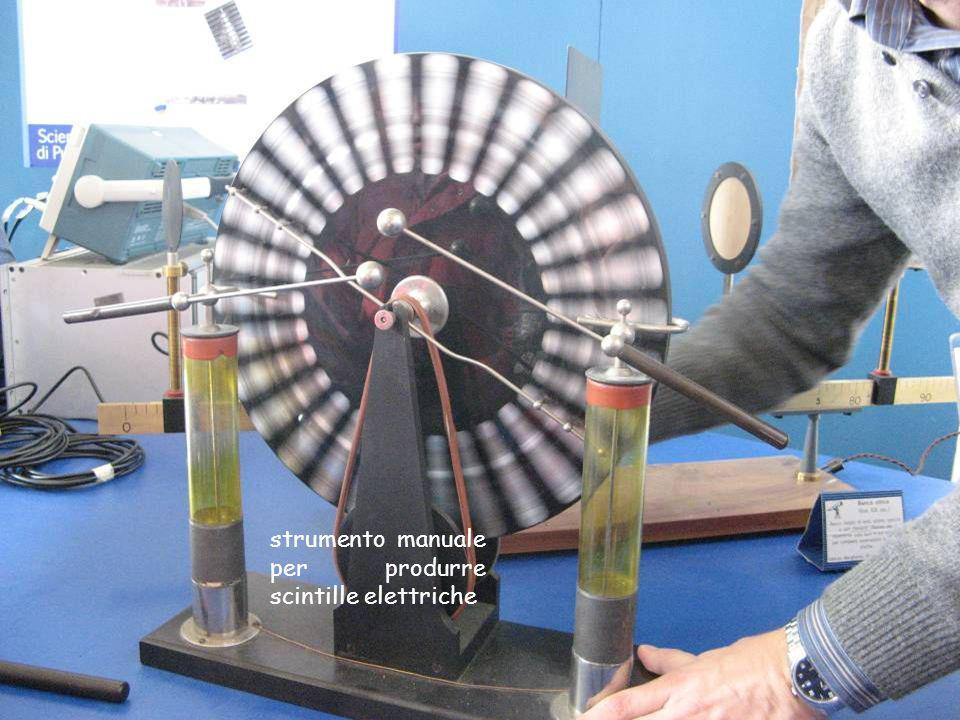 strumento manuale per produrre scintille elettriche