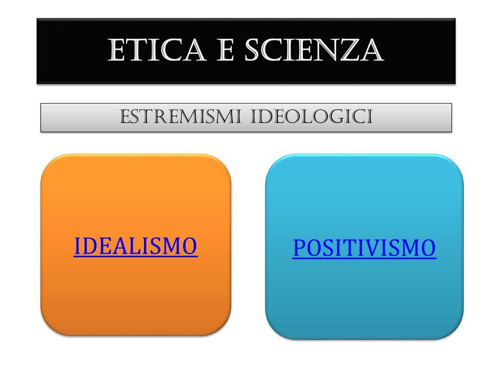 ESTREMISMI IDEOLOGICI IDEALISMO POSITIVISMO