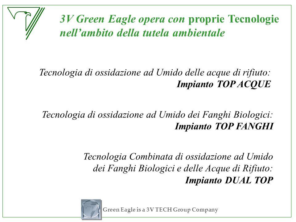 Green Eagle is a 3V TECH Group Company 3V Green Eagle opera con proprie Tecnologie nellambito della tutela ambientale Tecnologia di ossidazione ad Umi