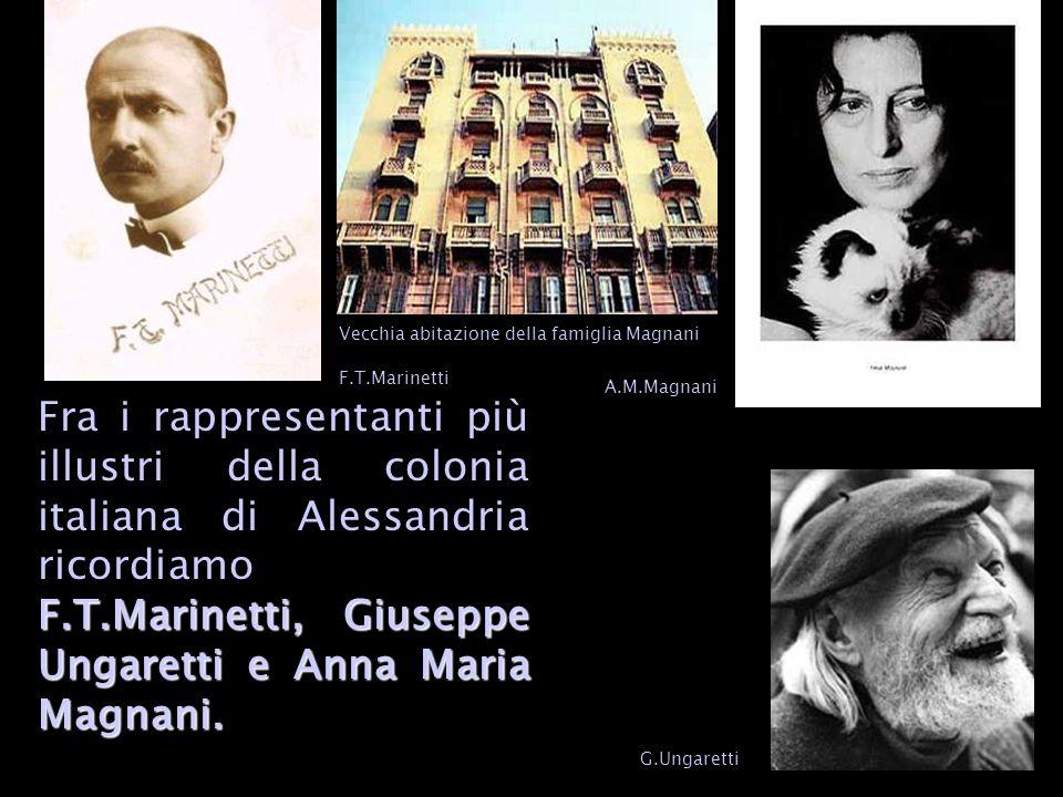 F.T.Marinetti,Giuseppe Ungaretti e Anna Maria Magnani.