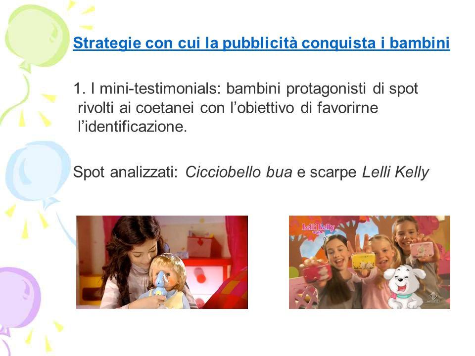 Strategie con cui la pubblicità conquista i bambini 2.