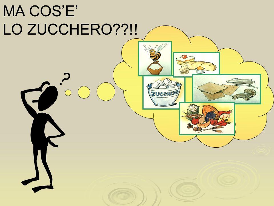 MA COSE LO ZUCCHERO??!!