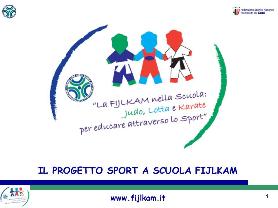 1 IL PROGETTO SPORT A SCUOLA FIJLKAM www.fijlkam.it