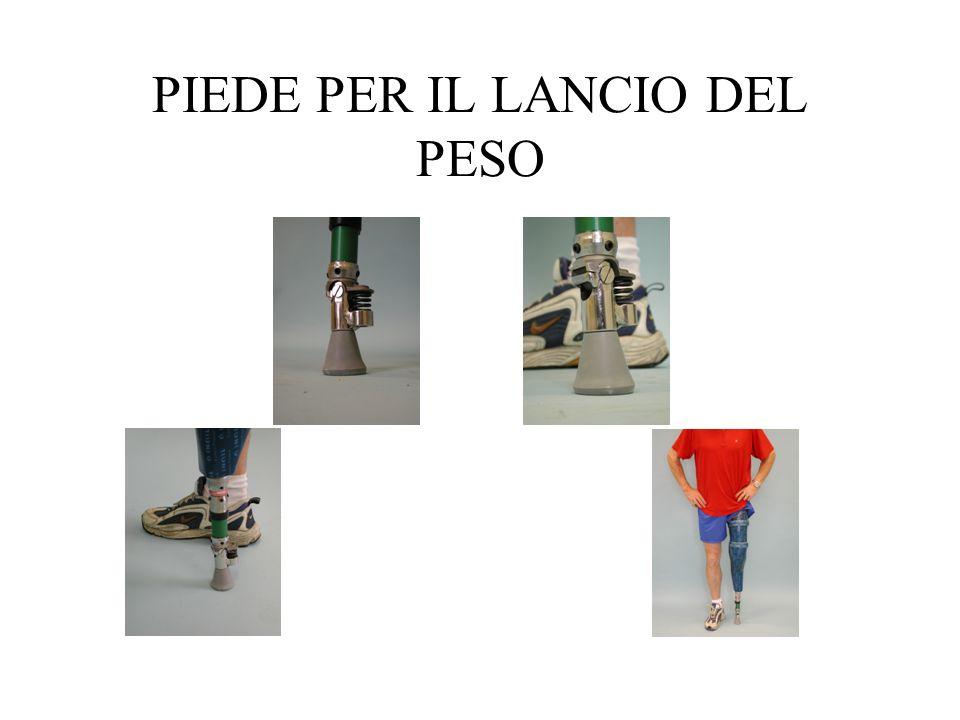 PIEDE PER IL LANCIO DEL PESO