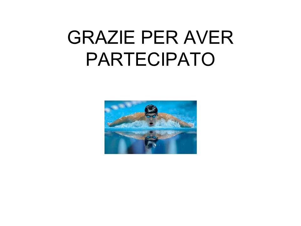 GRAZIE PER AVER PARTECIPATO