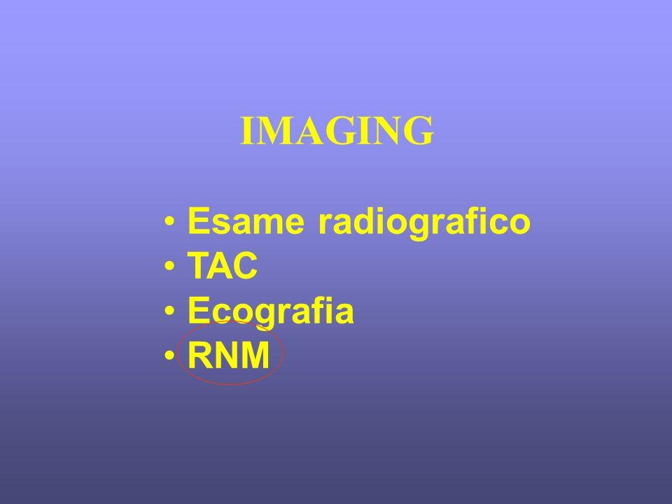 IMAGING Esame radiografico TAC Ecografia RNM