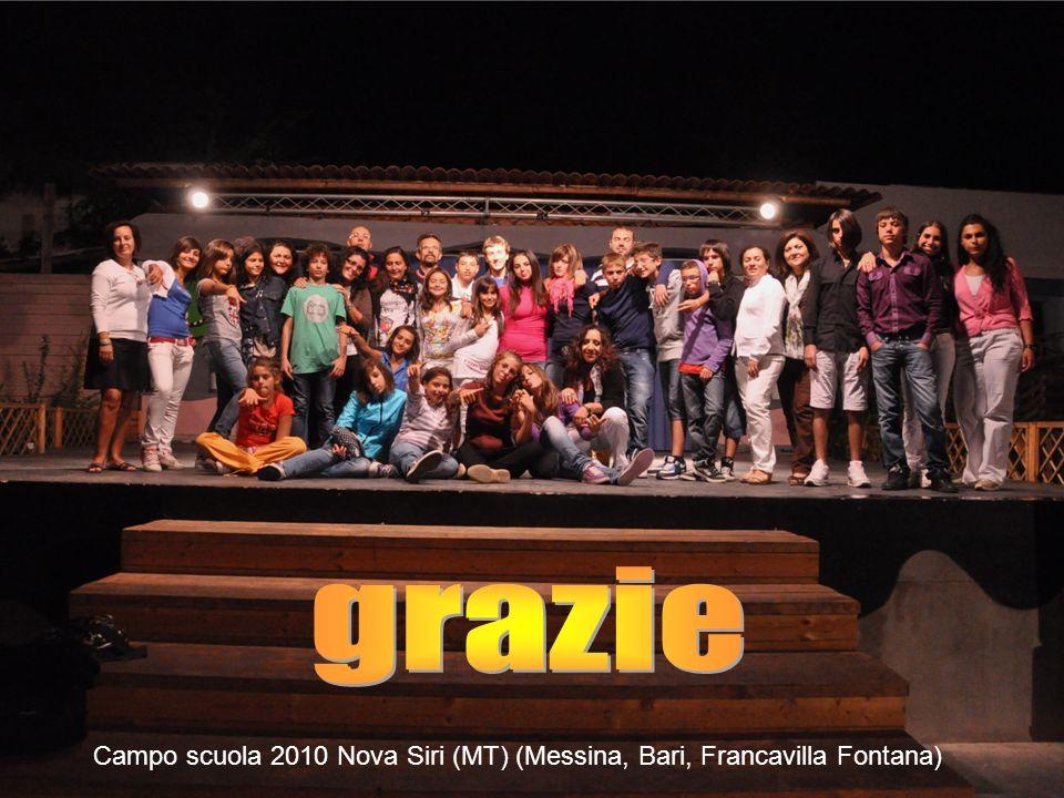 Campo scuola 2010 Nova Siri (MT) (Messina, Bari, Francavilla Fontana)