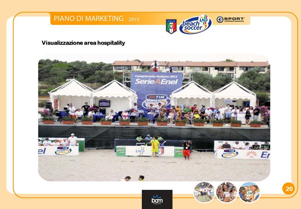 Visualizzazione area hospitality 20