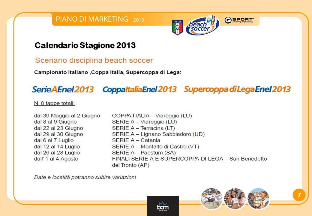 7 Calendario Stagione 2013