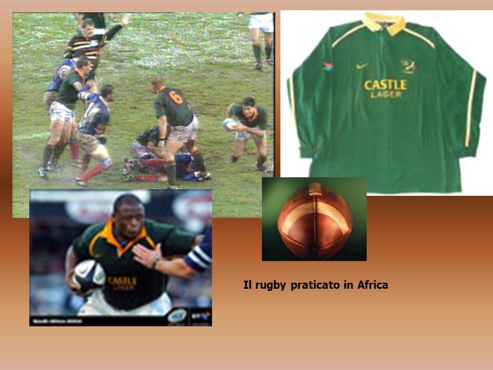 Il rugby praticato in Africa