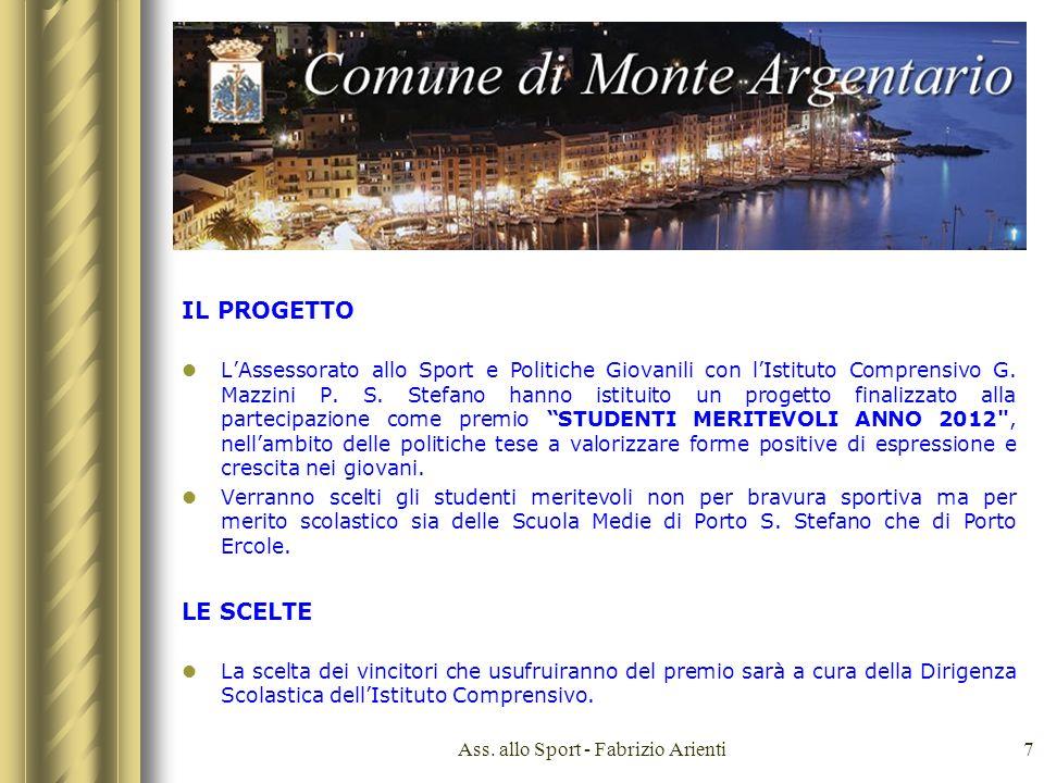 Ass. allo Sport - Fabrizio Arienti18 PORTO ERCOLE PORTO S STEFANO