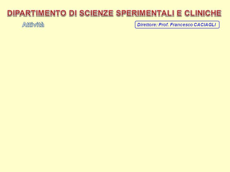 Direttore: Prof. Francesco CACIAGLI