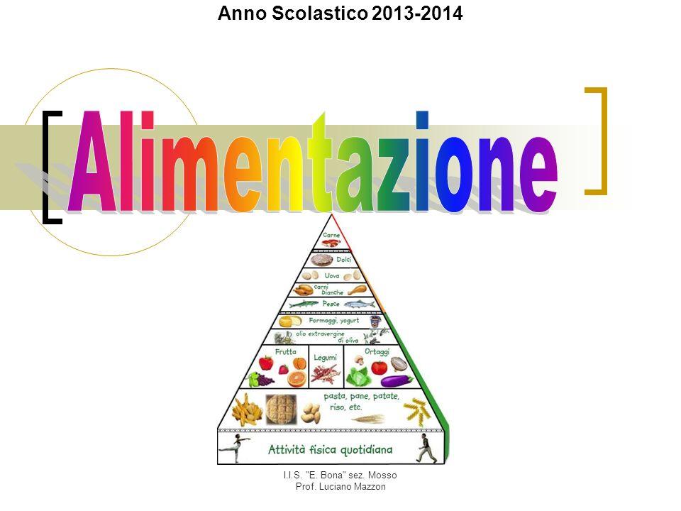 I.I.S. E. Bona sez. Mosso Prof. Luciano Mazzon Sali minerali CaPFe