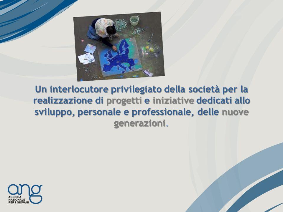 Un interlocutore privilegiato della società per la realizzazione di progetti e iniziative dedicati allo sviluppo, personale e professionale, delle nuove generazioni.