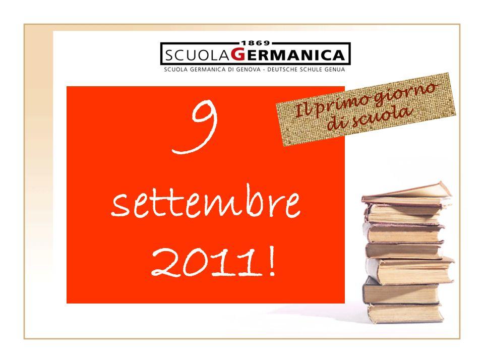 9 settembre 2011! Il primo giorno di scuola