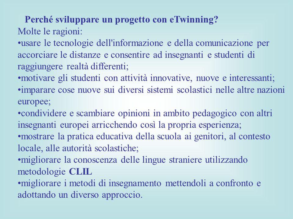 Perché sviluppare un progetto con eTwinning.
