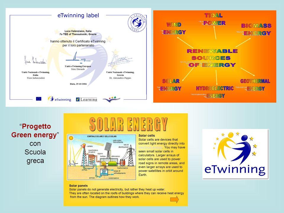 Progetto Green energy con Scuola greca
