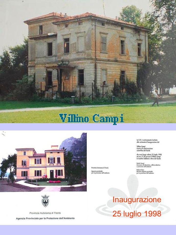 Villino Campi 5 giugno - 28 ottobre 2009