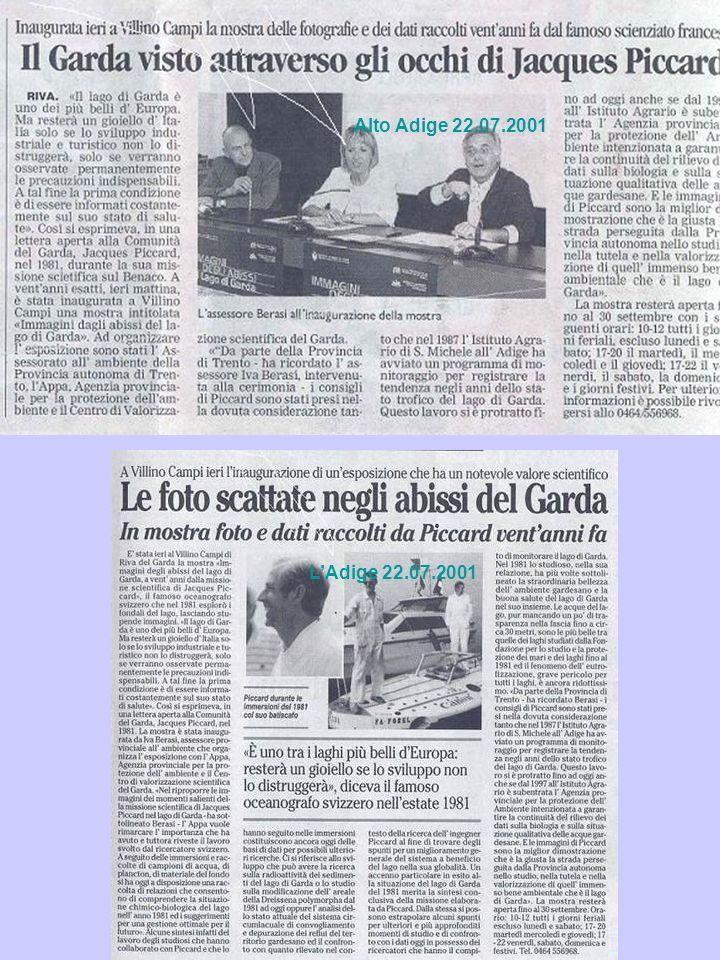 LAdige 22.07.2001 Alto Adige 22.07.2001