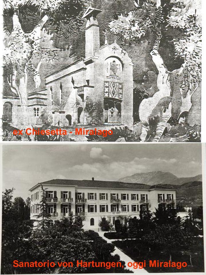 ex Chiesetta - Miralago Sanatorio von Hartungen, oggi Miralago