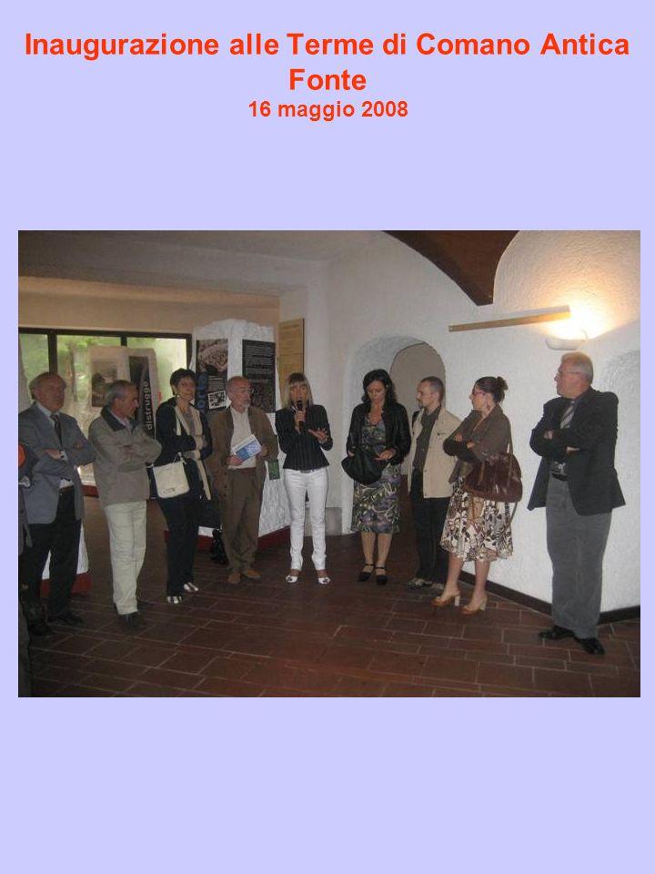 Inaugurazione alle Terme di Comano Antica Fonte 16 maggio 2008