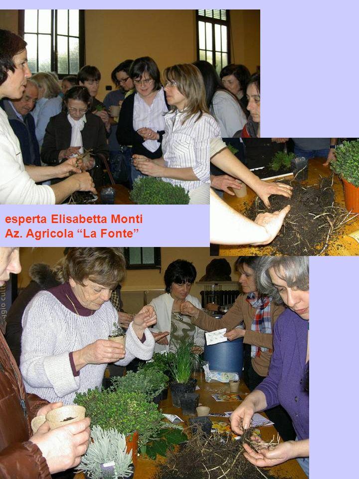 esperta Elisabetta Monti Az. Agricola La Fonte