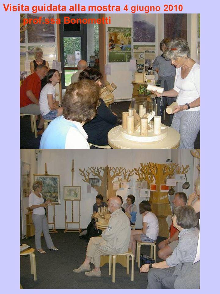 Visita guidata alla mostra 4 giugno 2010 prof.ssa Bonometti