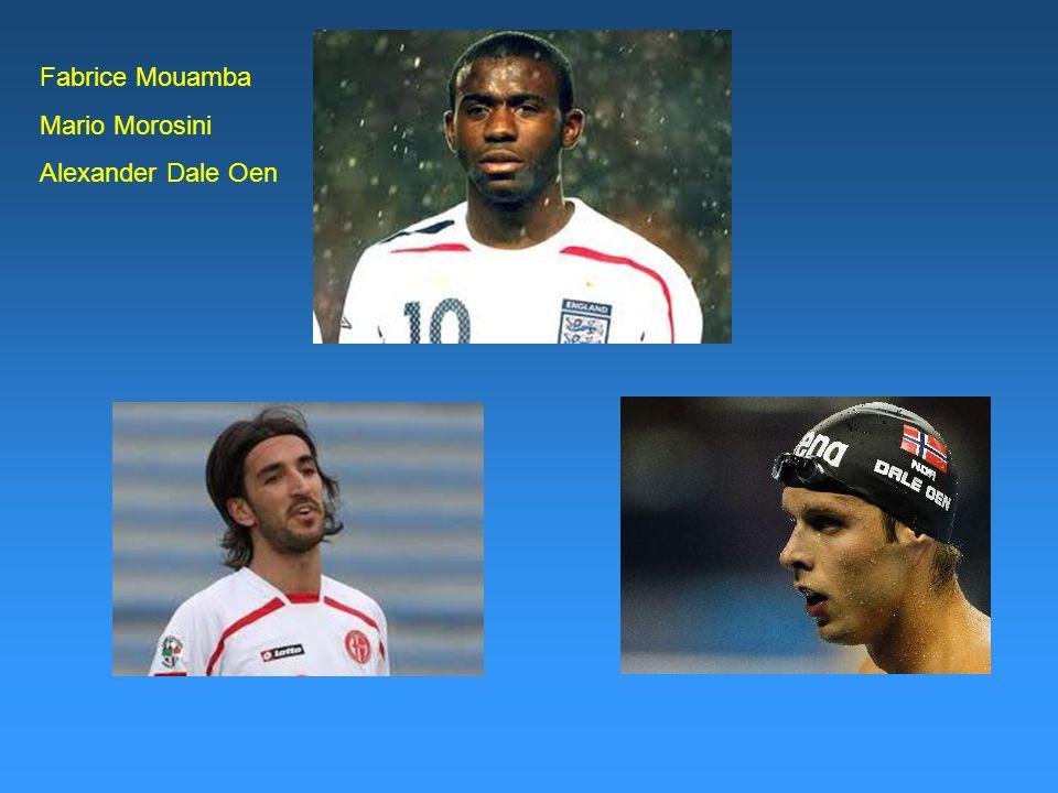 Fabrice Mouamba Mario Morosini Alexander Dale Oen