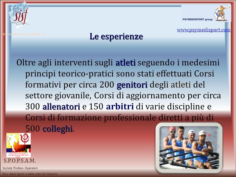 Mental Training Attenzione e Concentrazio ne Visualizzazio ne Gestione ansia e stress MotivazioneRilassamento Spirito di gruppo Obiettivi sportivi