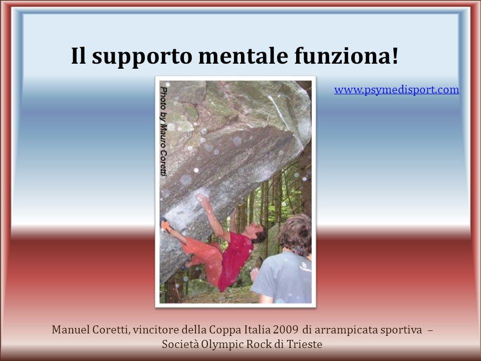 Piero Codia, campione italiano juniores di nuoto 2007 – USTN Unione Società Triestina Nuoto www.psymedisport.com Il supporto mentale funziona!