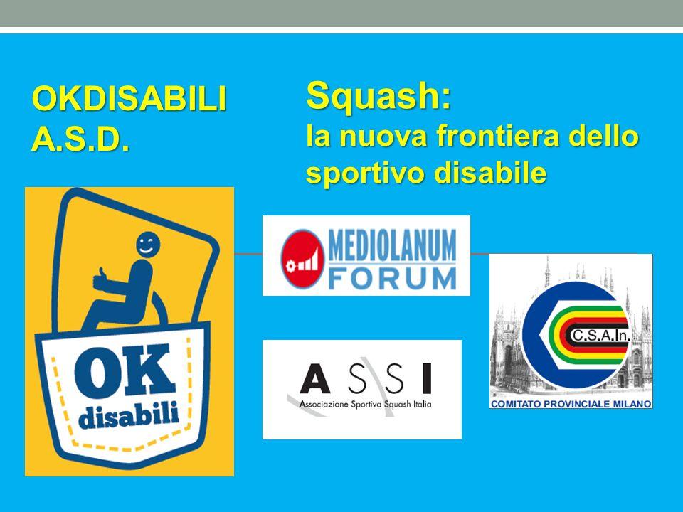 Programma Presentazione OKDISABILI A.S.D.Paola Pasquali – Presidente OKDISABILI; Resp.