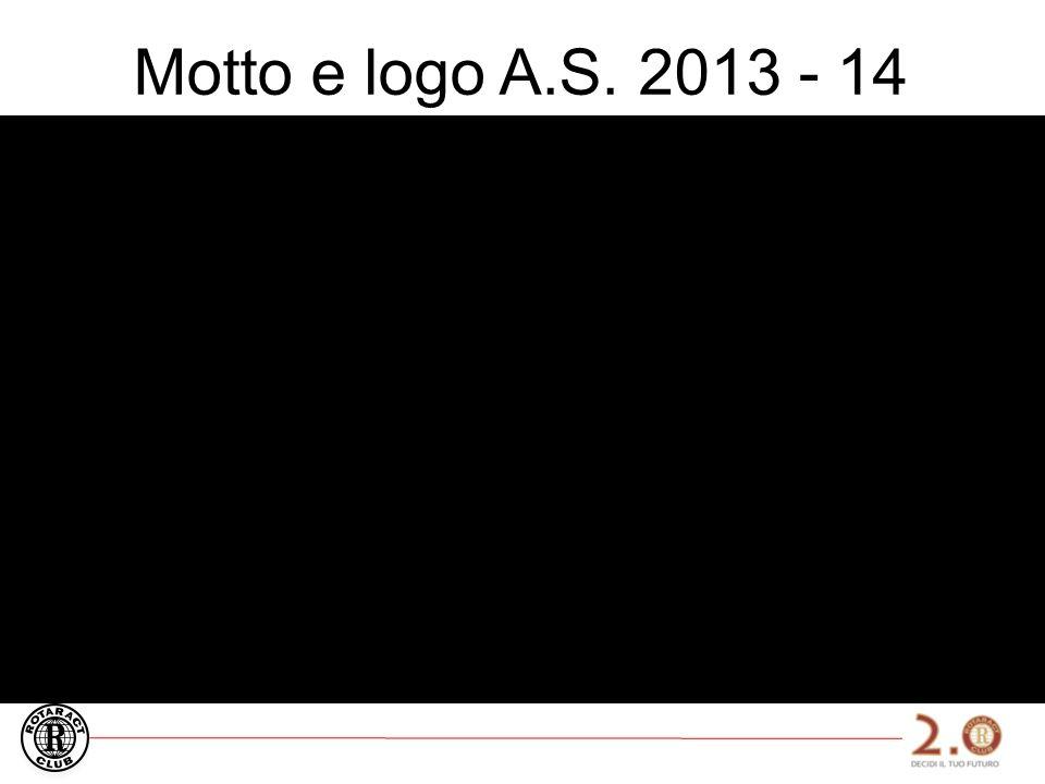 Motto e logo A.S. 2013 - 14