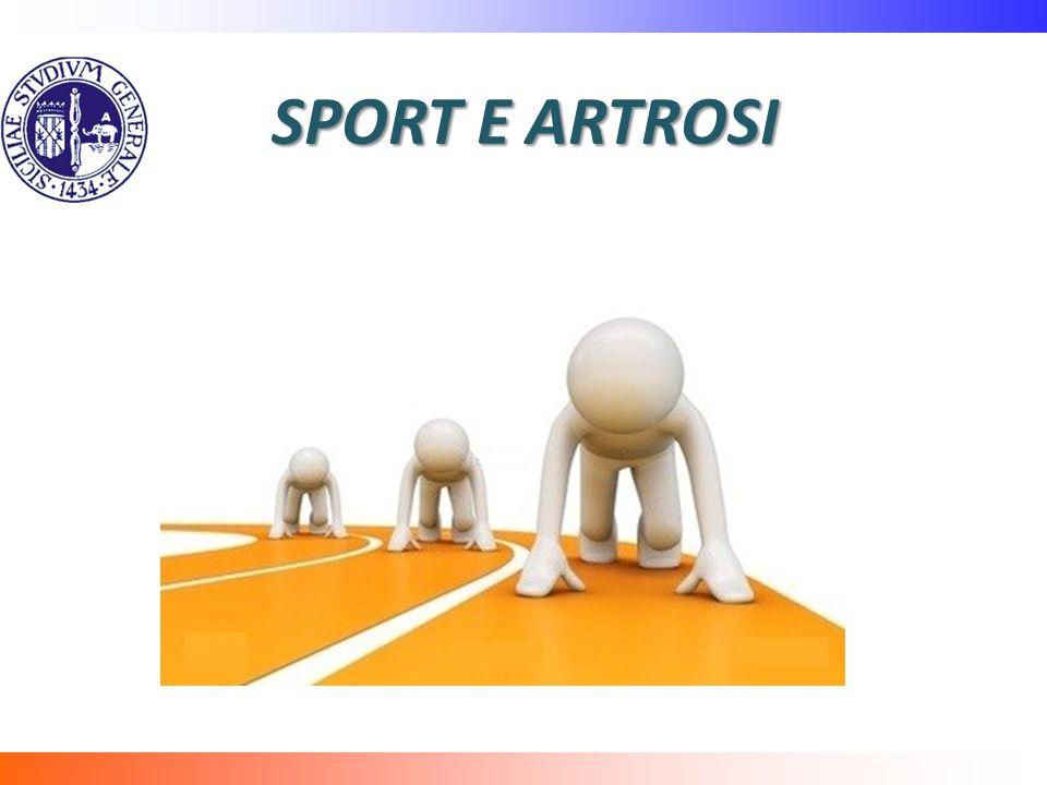 SPORT E ARTROSI
