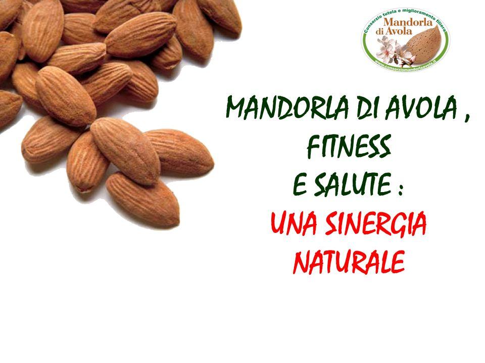 Le mandorle contengono in grande quantità magnesio e potassio, necessari per chi pratica fitness, footing e attività sportive.