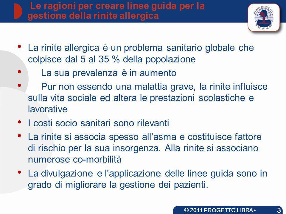 La voce del paziente: la rinite allergica non è un disturbo banale Valovirta et al.