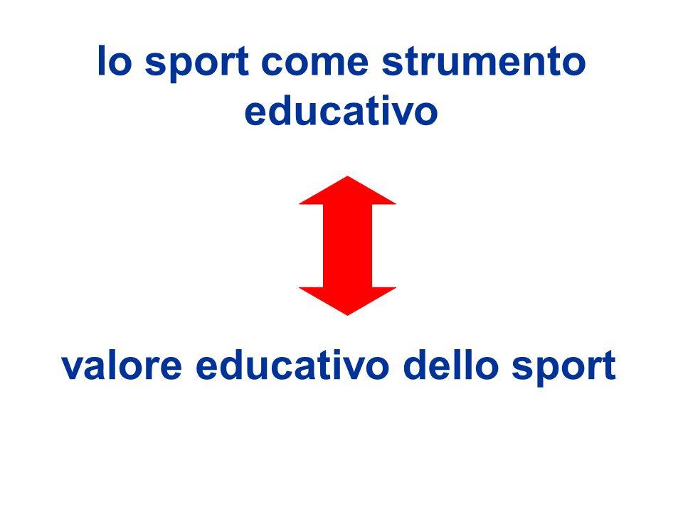 lo sport come strumento educativo valore educativo dello sport