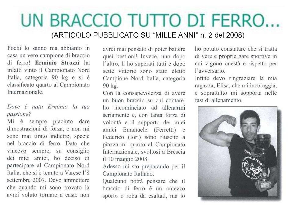 10° Campionato del Nord Italia 8° Memorial Giampietri Cristian 08 Settembre 2007 – Fagnano Olona (VA) Italy Competizione organizzata dallAssociazione