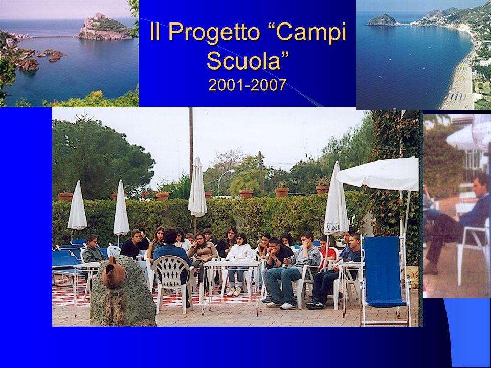 Il Progetto Campi Scuola 2001-2007