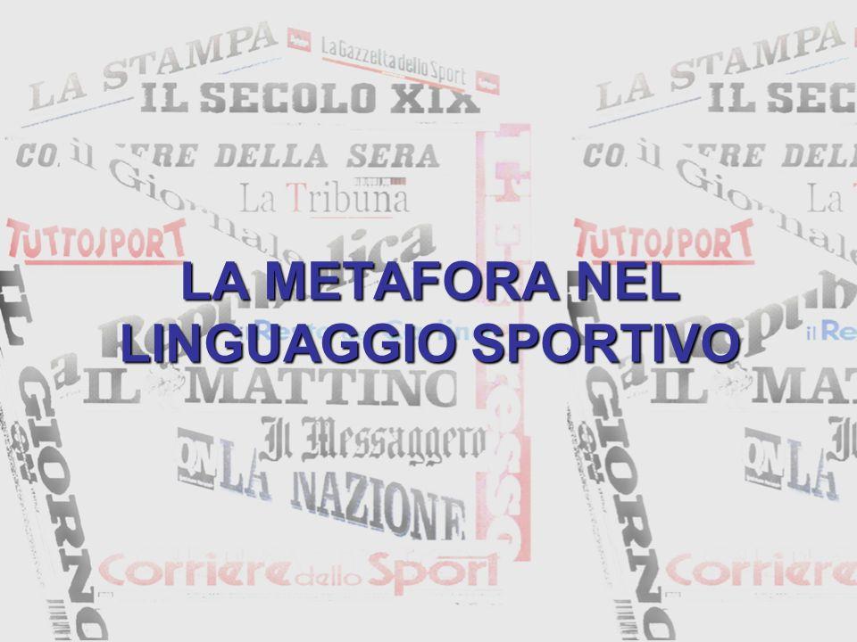 LA METAFORA Sostituzione di un verbum proprium con una parola il cui significato è in rapporto di somiglianza (H.