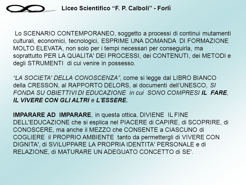 Liceo Scientifico F.P.