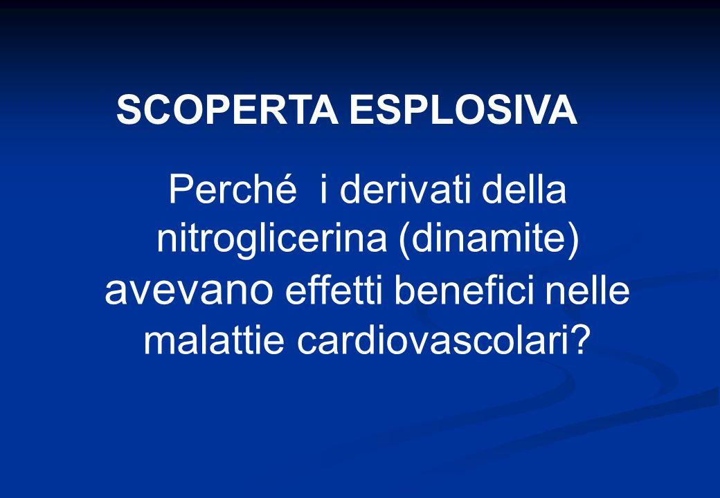 SCOPERTA ESPLOSIVA Perché i derivati della nitroglicerina (dinamite) avevano effetti benefici nelle malattie cardiovascolari?