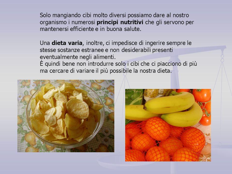 Le vitamine sono composti organici presenti negli alimenti in piccole concentrazioni; la loro mancanza determina malattie anche molto gravi.