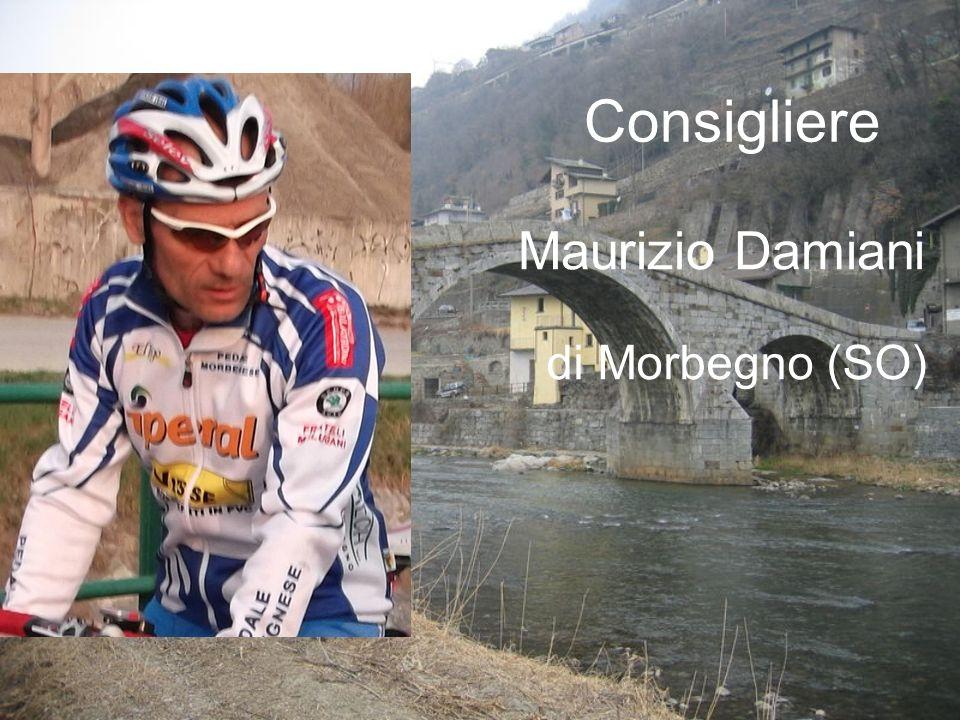 Maurizio Damiani Consigliere di Morbegno (SO)